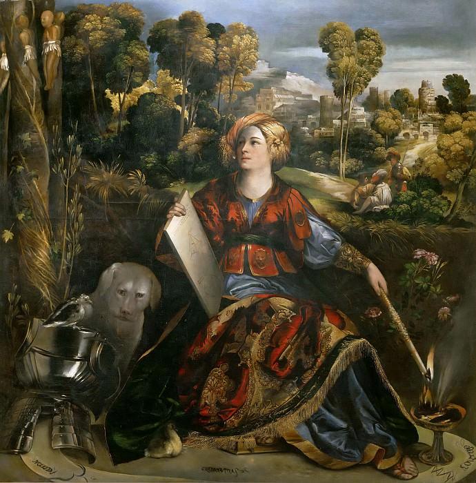 Circe (or Melissa). Dosso (Giovanni Francesco di Niccolò di Luteri) Dossi
