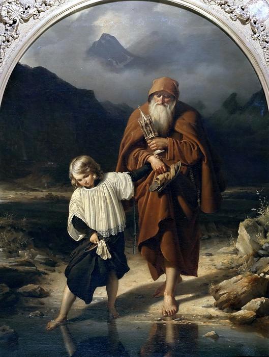 Священник. Вильгельм Эдуард Деге