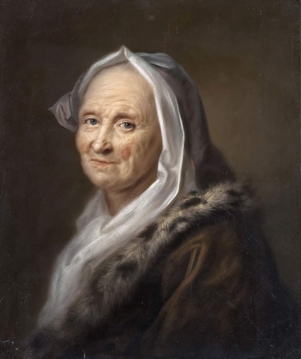 Portrait of an Old Lady. Balthasar Denner