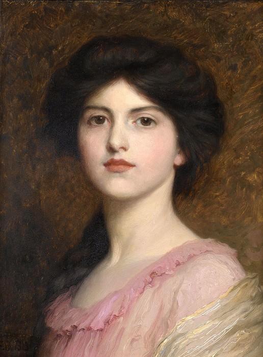 Portrait of Camille Sutton Palmer. Sir Frank Bernard Dicksee