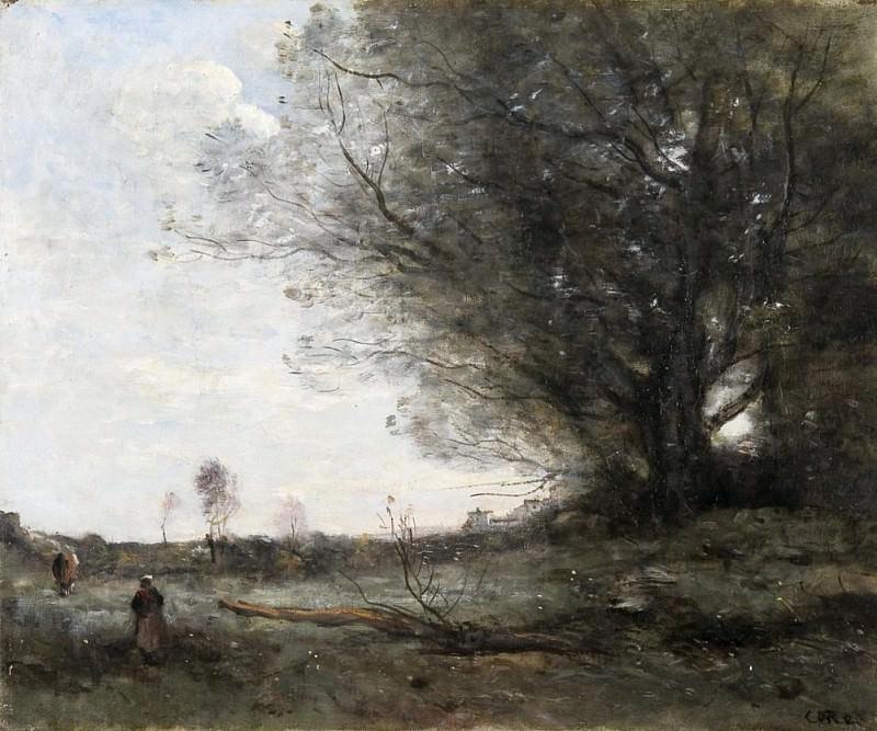 A Surrey landscape. Sir Frank Bernard Dicksee