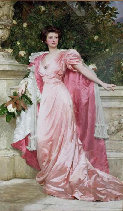 Constance (1876-1953) Duchess of Westminster. Sir Frank Bernard Dicksee