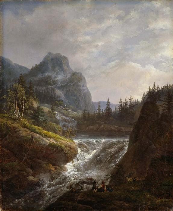 Норвежский пейзаж. Юхан Кристиан Клаусен Даль