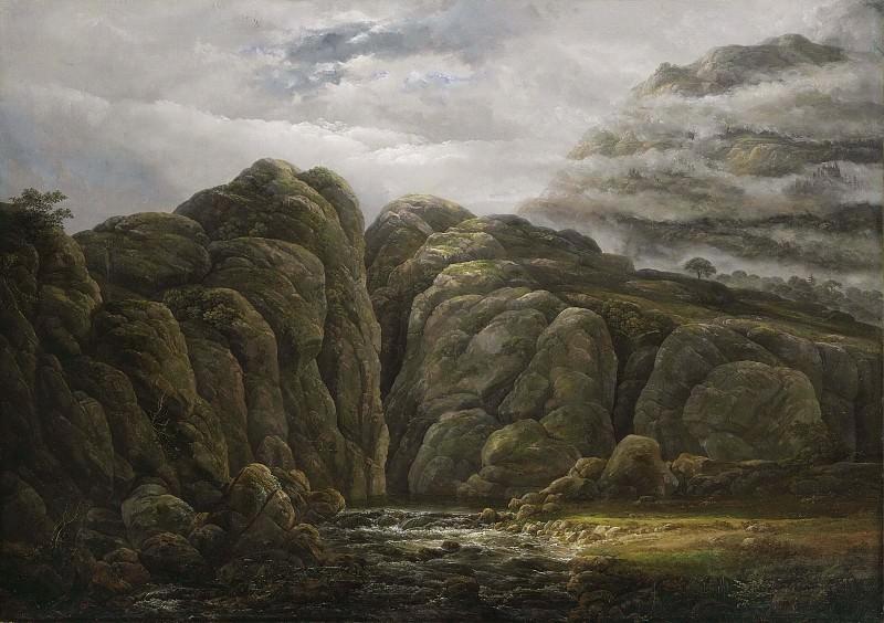 Norwegian Mountain Landscape. Johan Christian Clausen Dahl