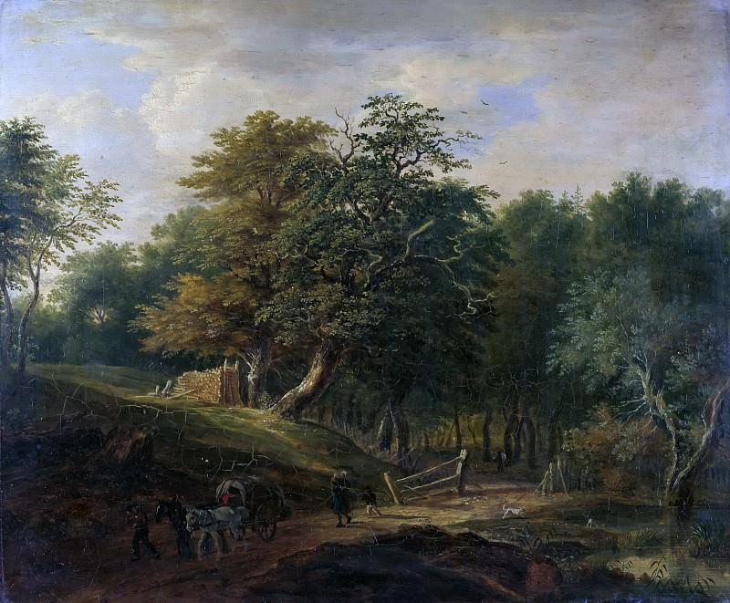 forest road. Johann Jakob Dorner II