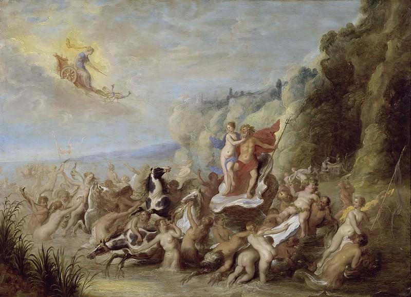 Neptune and Amphitrite. Abraham van Diepenbeeck (Attributed)