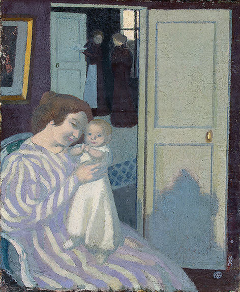 Mother and Child, 1895, Eremitaget. Maurice Denis
