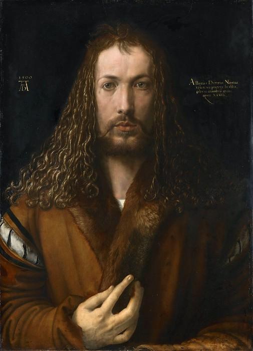 Self-Portrait. Albrecht Dürer