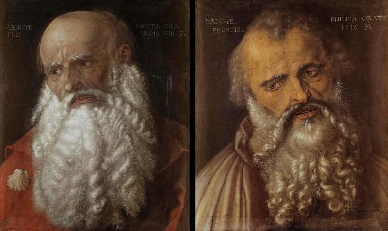 Апостолы Иаков и Филипп. Альбрехт Дюрер