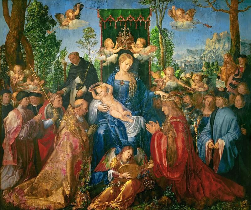 Feast of the Rosary. Albrecht Dürer
