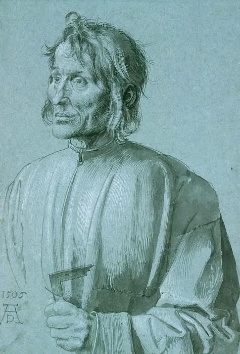 Portrait of the Architect Hieronymus von Augsburg. Albrecht Dürer