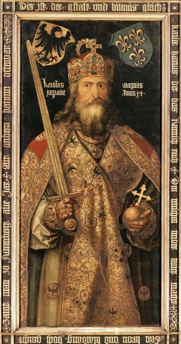 Emperor Charlemagne. Albrecht Dürer