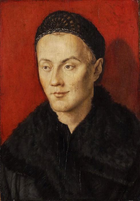 Portrait of a Man. Albrecht Dürer