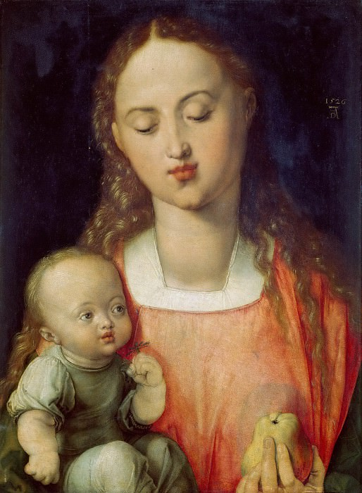 Madonna of the Pear. Albrecht Dürer