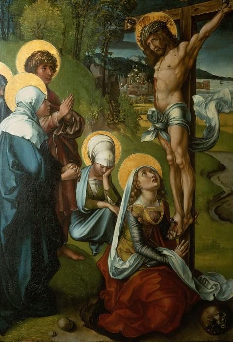 The Seven Sorrows of the Virgin - Christ on the Cross. Albrecht Dürer