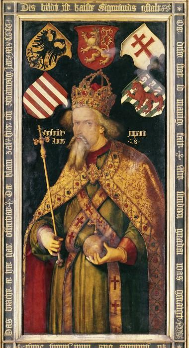 Emperor Sigismund. Albrecht Dürer