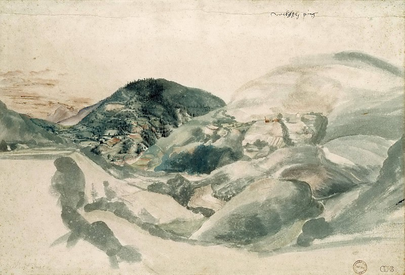 Landscape near Segonzano. Albrecht Dürer