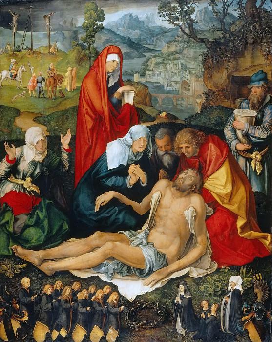 Lamentation for Christ. Albrecht Dürer