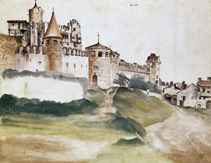 The Castle at Trento. Albrecht Dürer