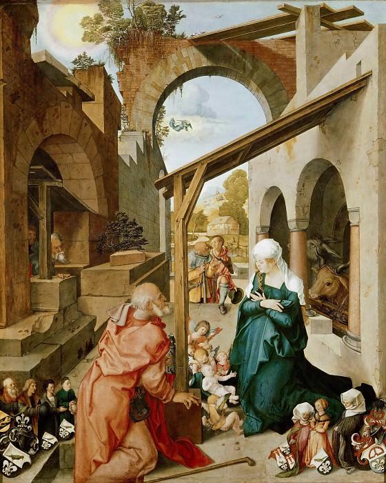 Paumgartner Altar - Nativity. Albrecht Dürer