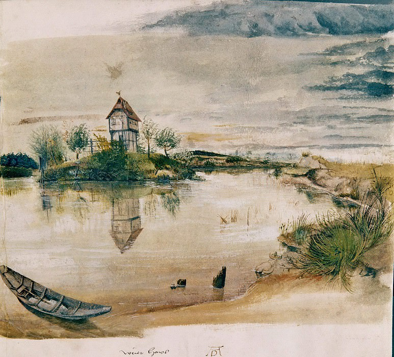 House by a Pond. Albrecht Dürer