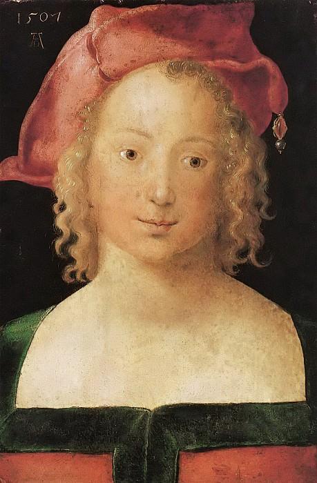 Portrait of a Young Girl. Albrecht Dürer