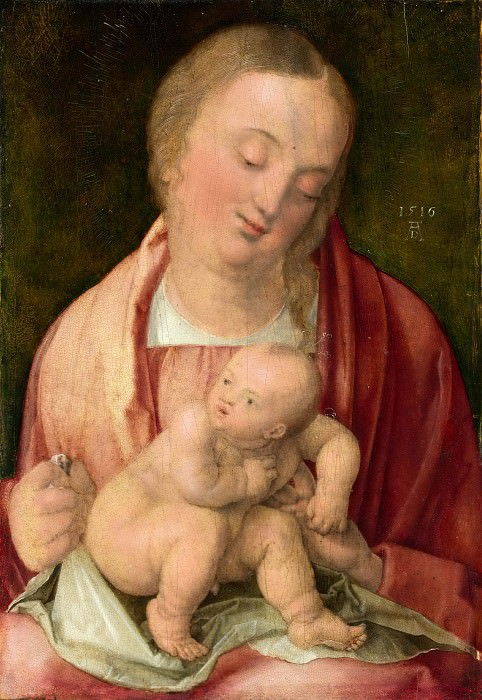 Мадонна с младенцем. Альбрехт Дюрер