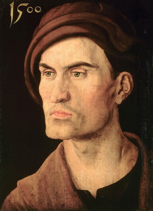 Portrait of a man. Albrecht Dürer