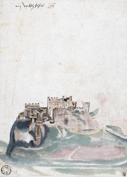 Castle at Segonzano. Albrecht Dürer
