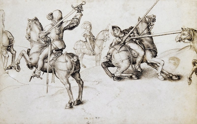 Fencing Book. Albrecht Dürer