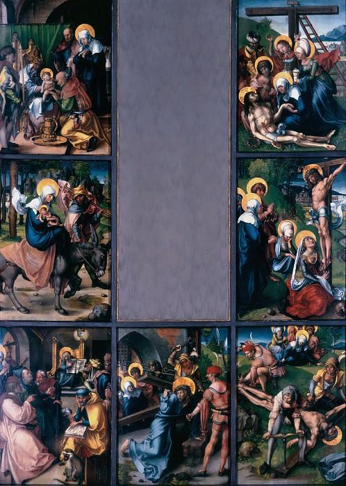 The Seven Sorrows of the Virgin. Albrecht Dürer