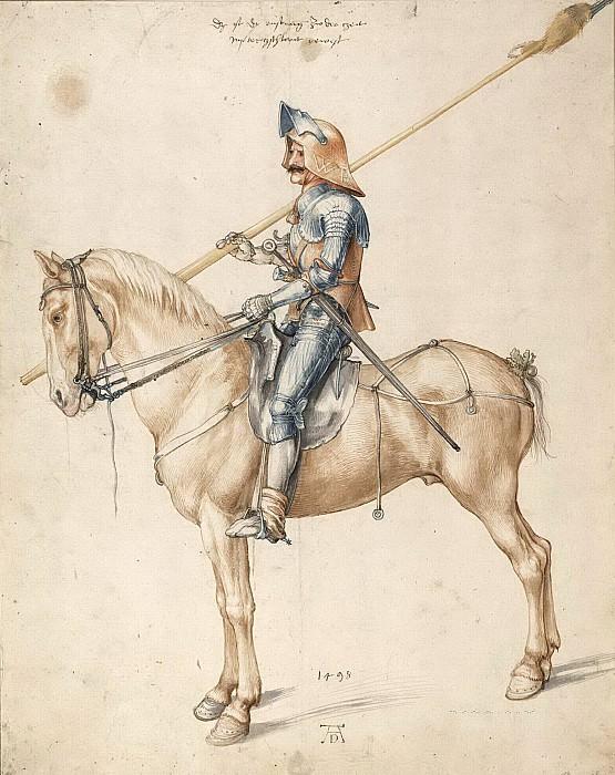 The Rider. Albrecht Dürer