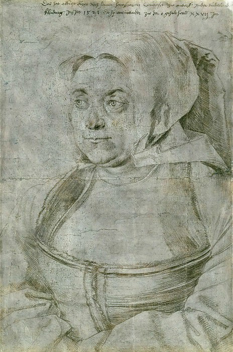 Agnes, the Artists Wife. Albrecht Dürer