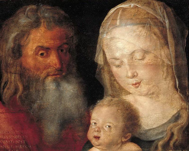 Holy Family. Albrecht Dürer