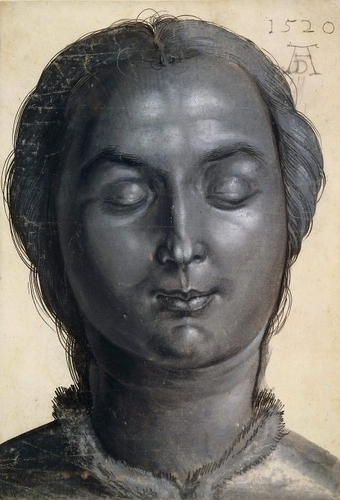 Head of a Woman. Albrecht Dürer