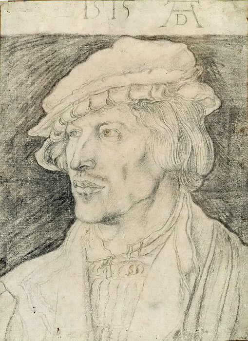 Portrait of a young Man. Albrecht Dürer