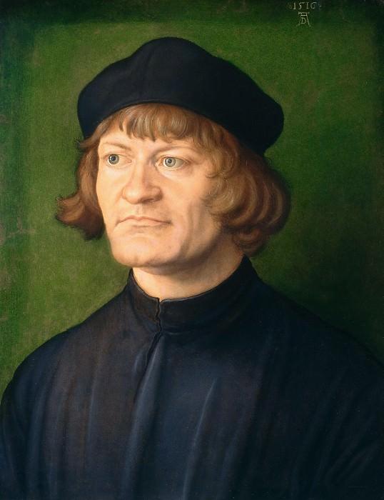 Portrait of a Cleric. Albrecht Dürer