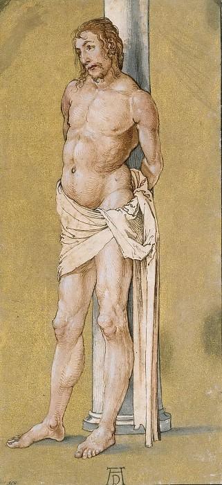 Христос, привязанный к колонне. Альбрехт Дюрер