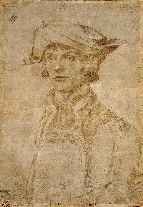 Portrait of Lucas van Leyden. Albrecht Dürer