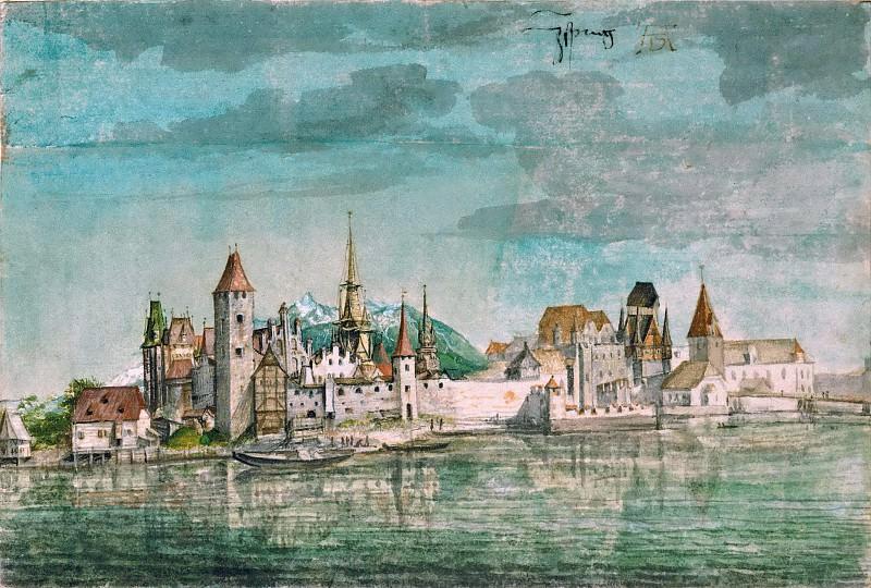 View of Innsbruck. Albrecht Dürer