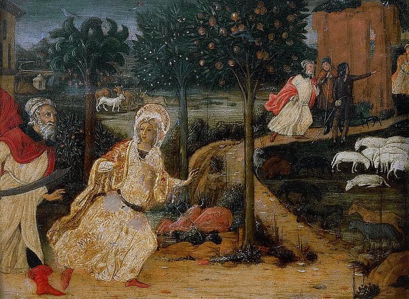 Сцены из жизни святой Варвары. Гвидоччо Коццарелли