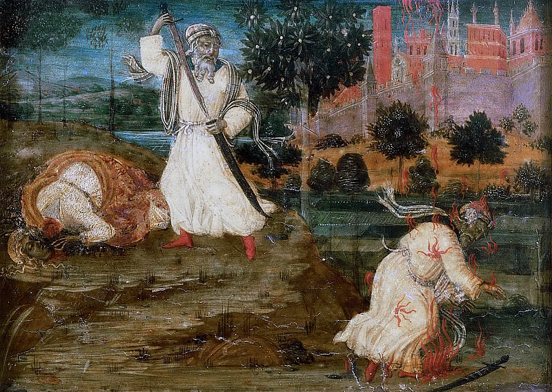 Scenes from the Life of Saint Barbara. Guidoccio Cozzarelli