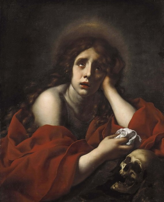 The Penitent Mary Magdalene. Carlo Dolci
