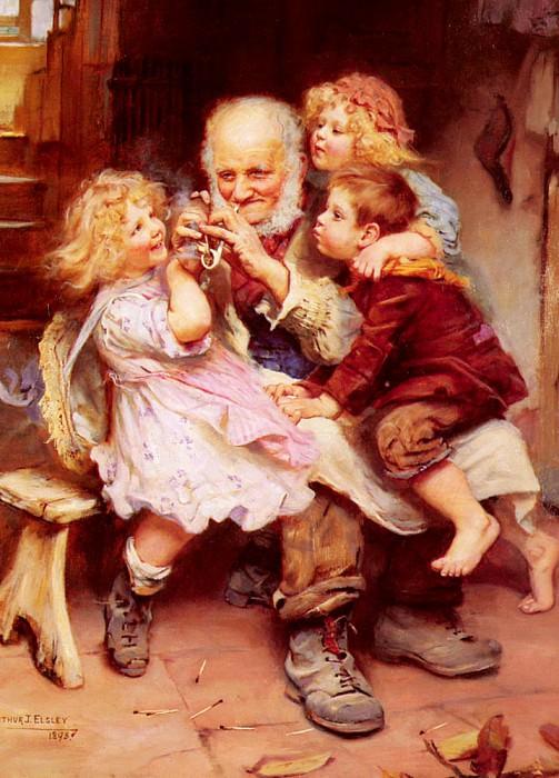 Любимцы деда. Артур Джон Элсли