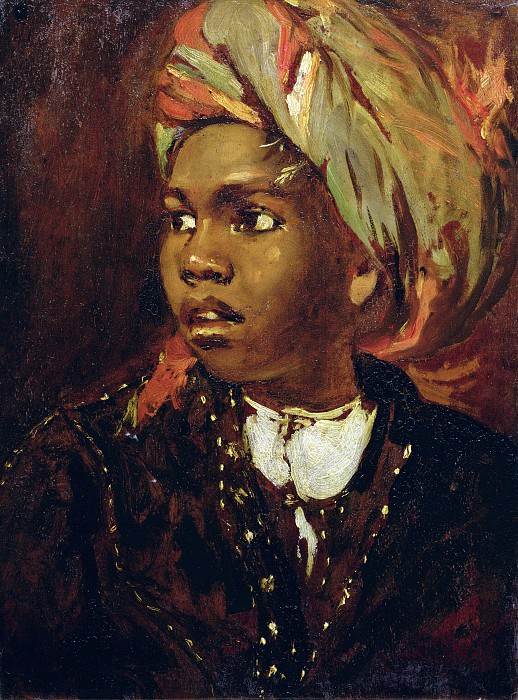 Study of a Black Boy. William Etty