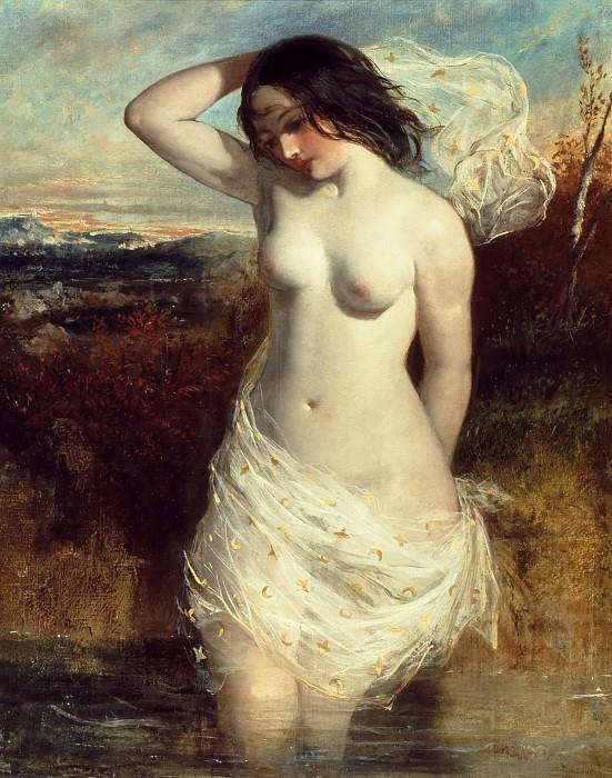 The Bather. William Etty