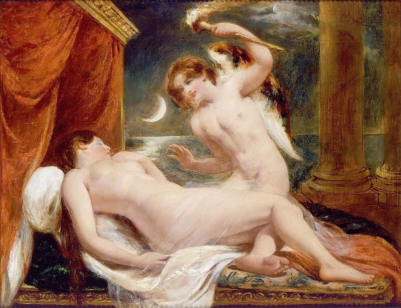 Cupid and Psyche. William Etty