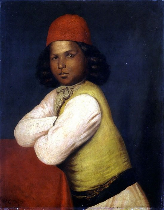 The Missionary Boy. William Etty