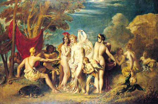The Judgement of Paris. William Etty