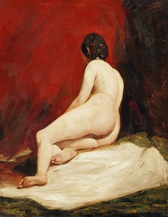 A female nude. William Etty